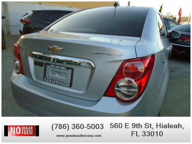 Chevrolet Sonic 2016 price $1,000 Down