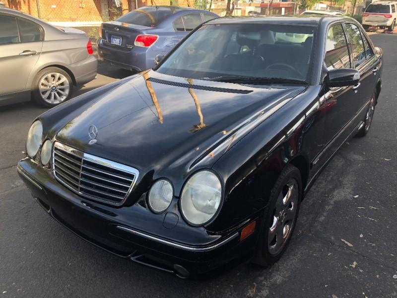 Mercedes-Benz E-Class 2002 price $4,400