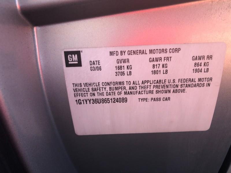 Chevrolet Corvette 2006 price $13,990