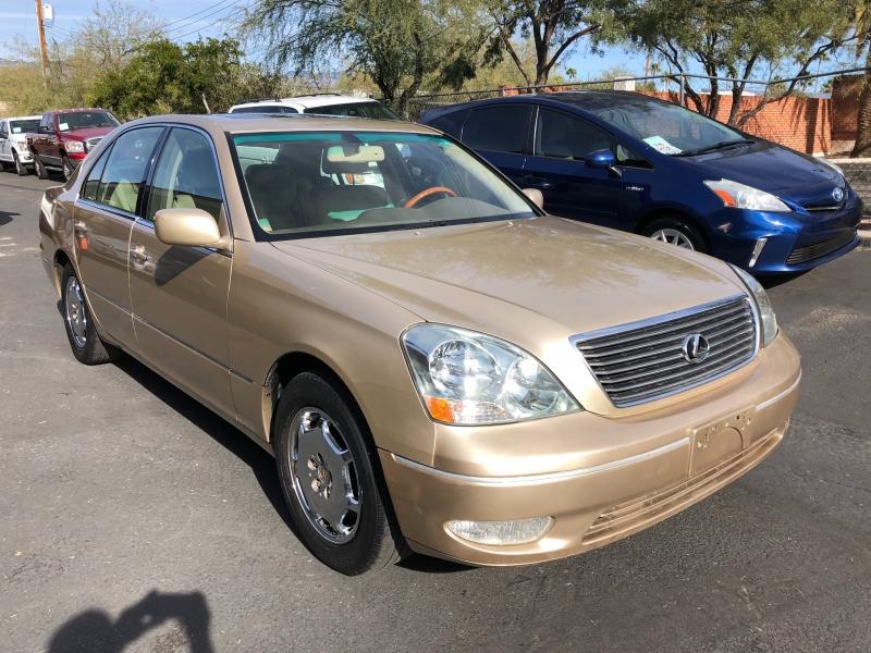 Lexus LS 2002 price $4,550