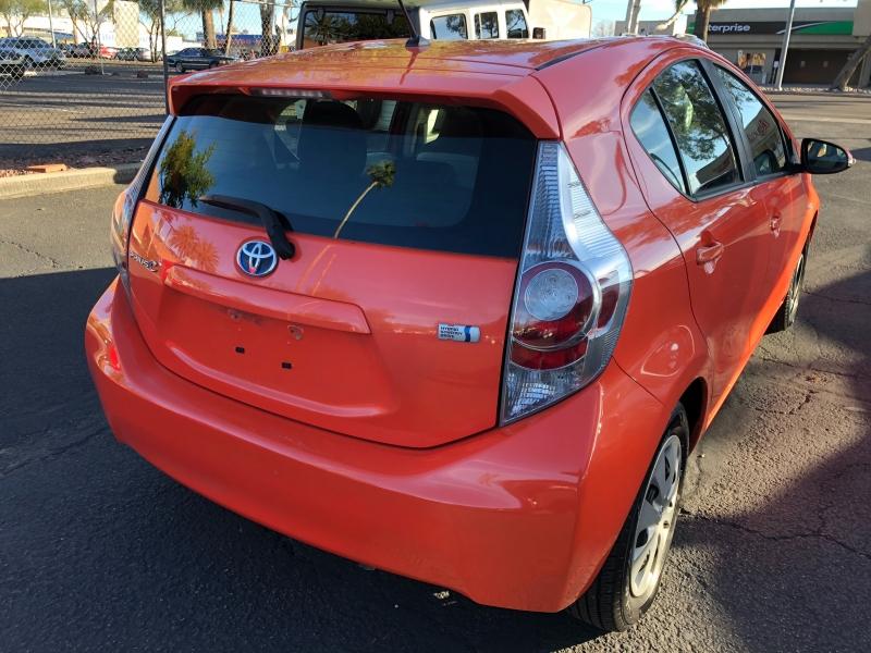 Toyota Prius c 2012 price $7,490
