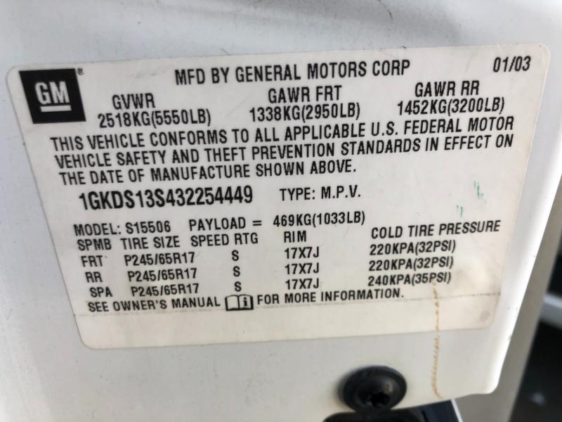 GMC Envoy 2003 price $4,990