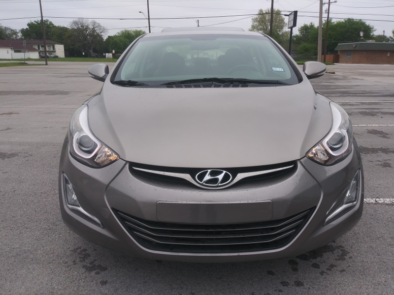 Hyundai ELANTRA LTD 2015 price $0