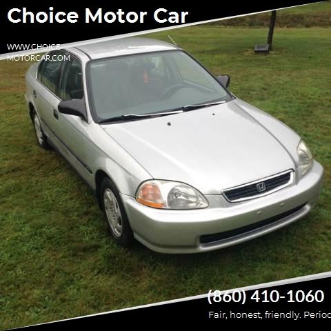 Zaawansowane 1996 Honda Civic LX sedan Choice Motor Car | Auto dealership in YG49