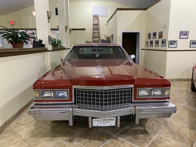 Cadillac COUPE DEVILLE 1976 price $12,995