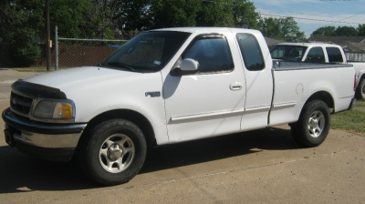 1997 Ford F-150 Supercab 139""