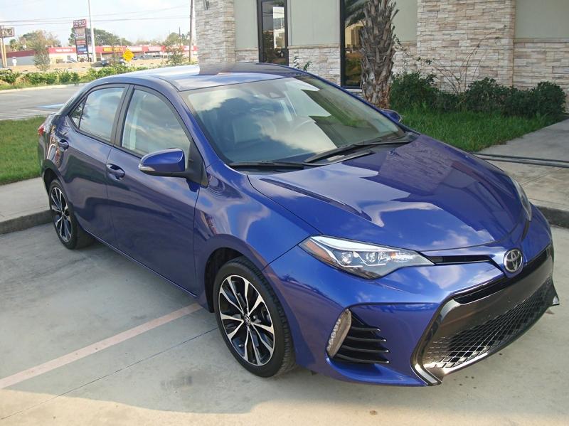 Toyota Corolla 2017 price $16,200
