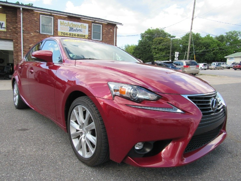 Lexus IS 250 2015 price $21,900