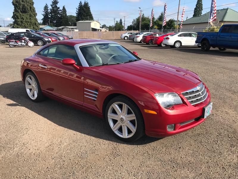 Chrysler Crossfire 2006 price $8,980