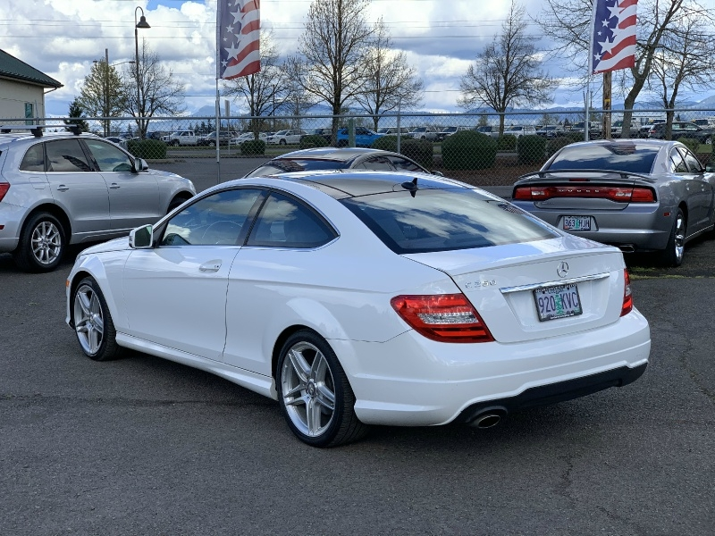 Mercedes-Benz C-Class 2013 price $13,780