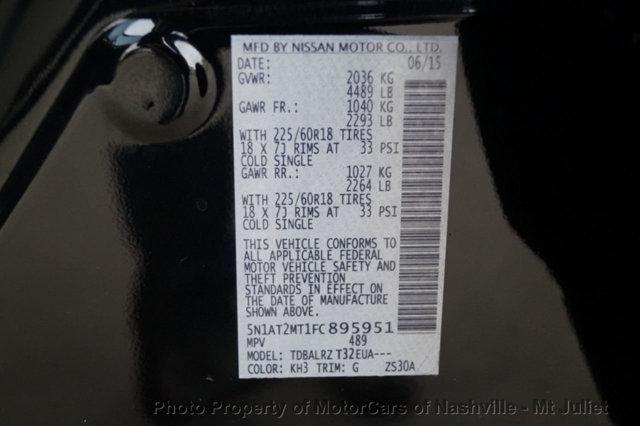 Nissan Rogue 2015 price $17,399