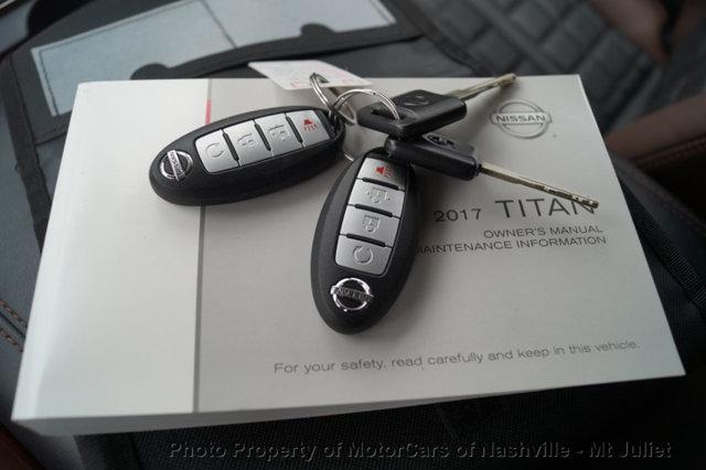 Nissan Titan 2017 price $31,899