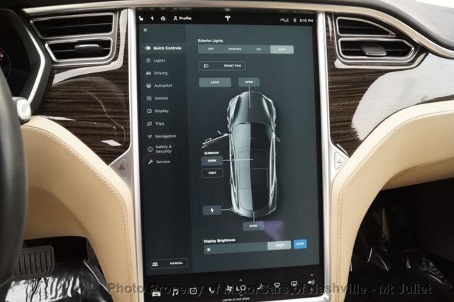 Tesla Model S 2016 price $41,998