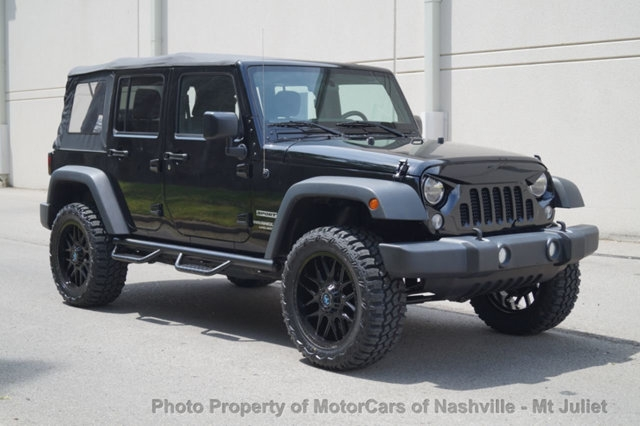 Jeep Wrangler Unlimited 2015 price $28,399