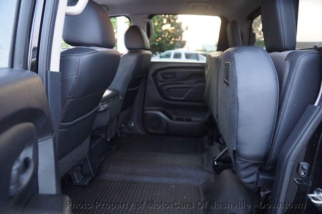 Nissan Titan 2017 price $25,998