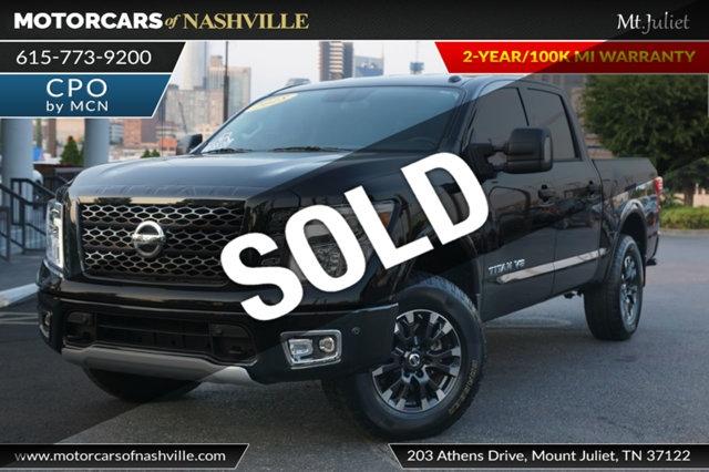Nissan Titan 2018 price $38,699