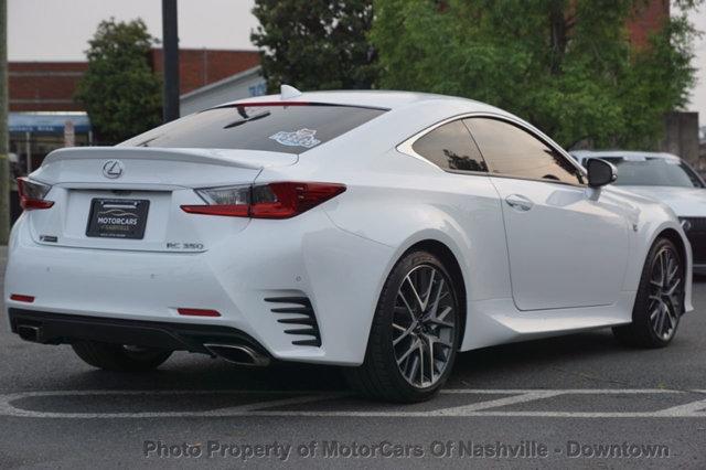 Lexus RC 350 2015 price $31,499