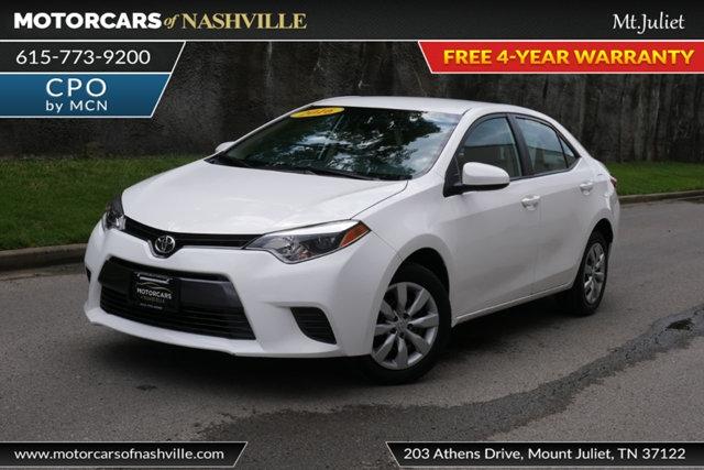 Toyota Corolla 2016 price $12,599