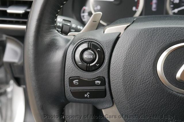 Lexus IS 200t 2016 price $21,499