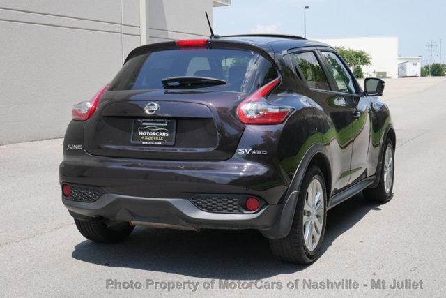 Nissan JUKE 2015 price $16,023