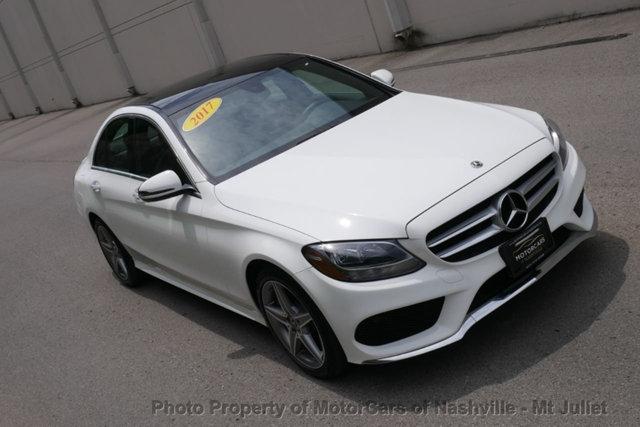 Mercedes-Benz C-Class 2017 price $22,998