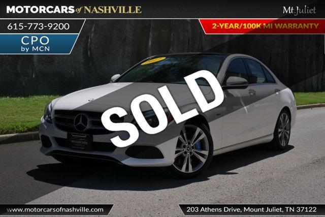 Mercedes-Benz C-Class 2017 price $24,998