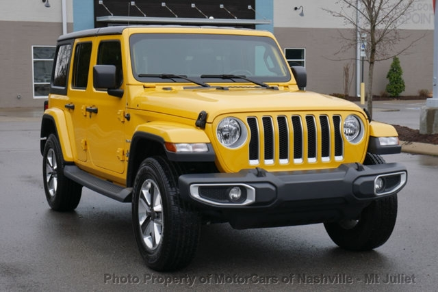 Jeep Wrangler Unlimited 2019 price $33,699
