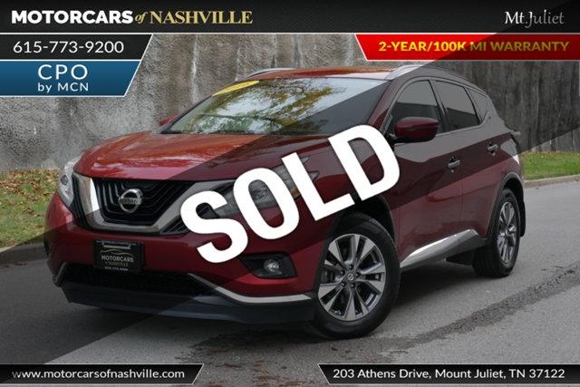 Nissan Murano 2016 price $17,699