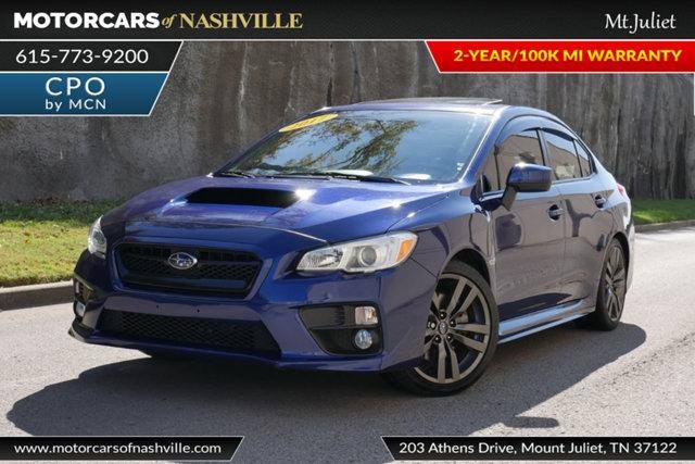 Subaru WRX 2017 price $21,998