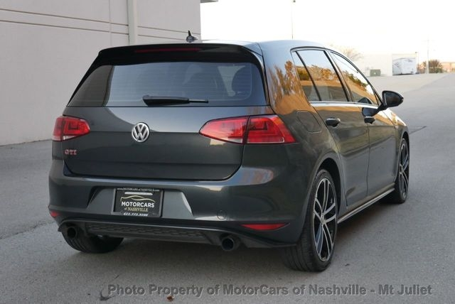 Volkswagen Golf GTI 2017 price $16,599