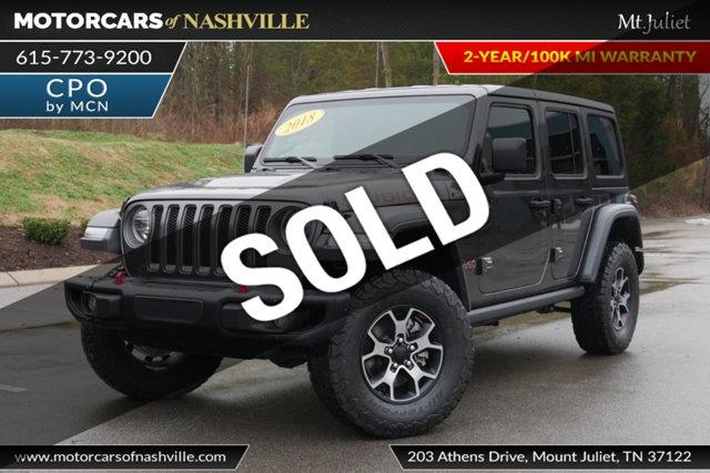 Jeep Wrangler 2018 price $40,998