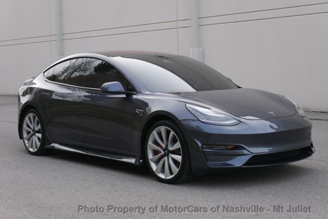 Tesla Model 3 2018 price $56,998