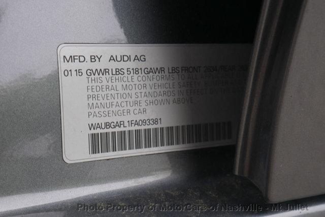 Audi S4 2015 price $19,699