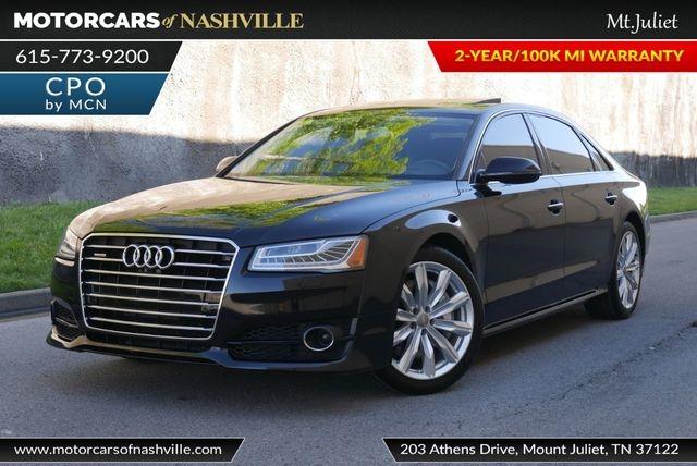 Audi A8 L 2017 price $33,880