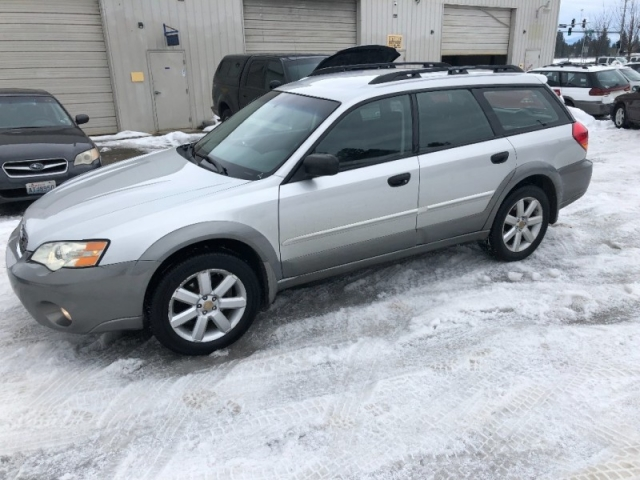 2007 SUBARU OUTBACK WAGON 112K NEW TIMING BELT NICE!!