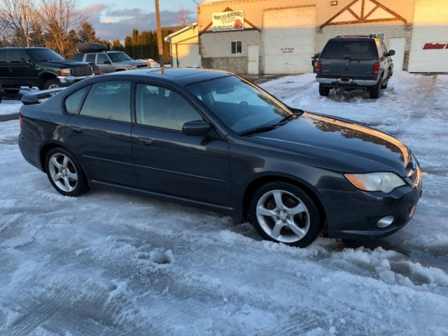 2008 SUBARU LEGACY LIMITED SEDAN LEATHER LOADED 103K