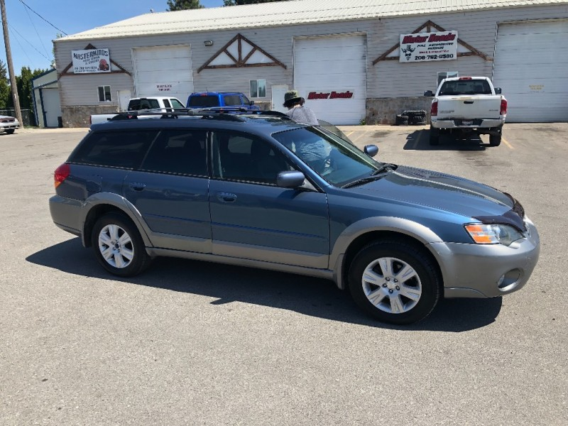 SUBARU OUTBACK LIMITED LEATHER 5SPD MANUAL 2005 price $6,300