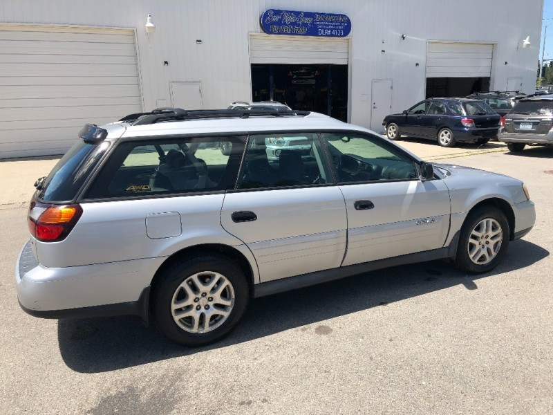 SUBARU OUTBACK WAGON NEW TIRES GOOD HEAD GASKETS AND BELT 2004 price $4,300