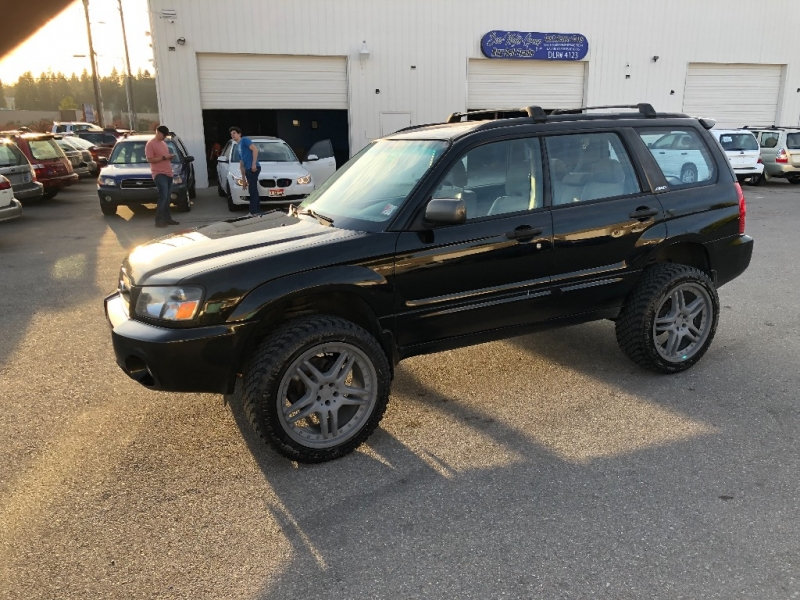 SUBARU FORESTER XS LOADED 5SPD MANUAL NEW HEADGASKETS AND TIMING BELT 2004 price $6,500