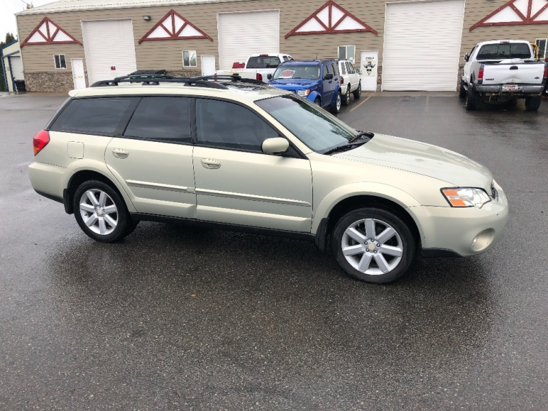 SUBARU OUTBACK WAGON LIMITED LEATHER GOOD TIMING BELT & HEADGASKETS 2006 price $5,300