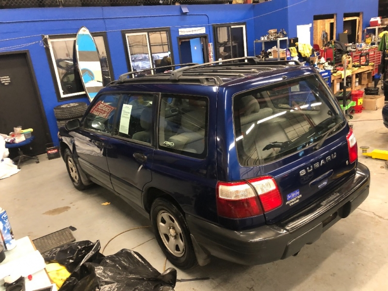 SUBARU FORESTER X NEW TIMING BELT & HEAD GASKETS 2001 price $3,300