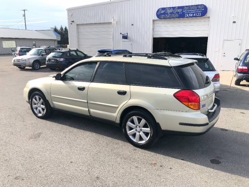 SUBARU OUTBACK WAGON GOOD HEADS AND TIMING BELT 2006 price $4,100