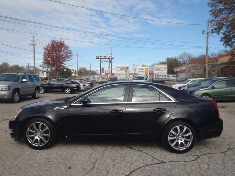 2008 Cadillac CTS 3.6L DI AWD 4dr Sedan - Inventory | Hubbell Motors Inc | Auto dealership in ...