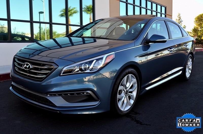 2016 Hyundai Sonata Sport - Navigation