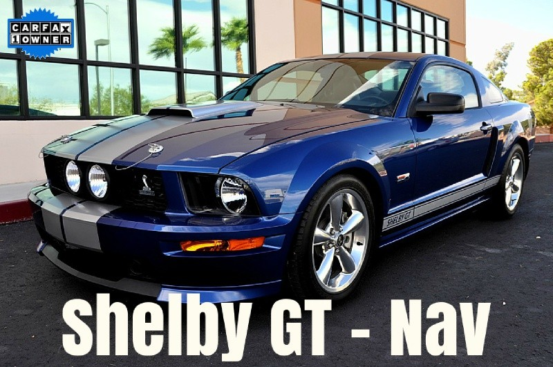 2008 Ford Mustang Shelby GT - Navigation