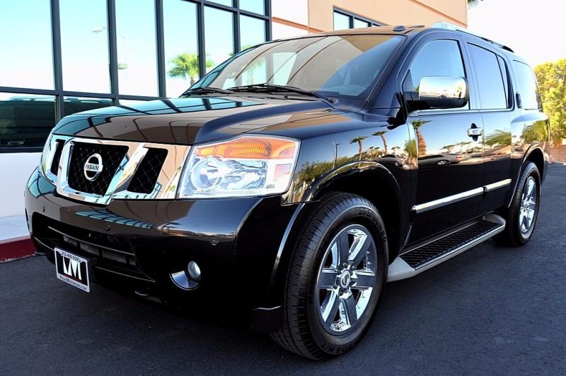 2012 Nissan Armada Platinum - Navigation