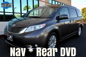 Toyota Sienna XLE - Navigation - Rear Entertainment 2015