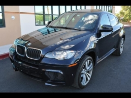 BMW X6 ///M AWD - Rear Entertainment 2012