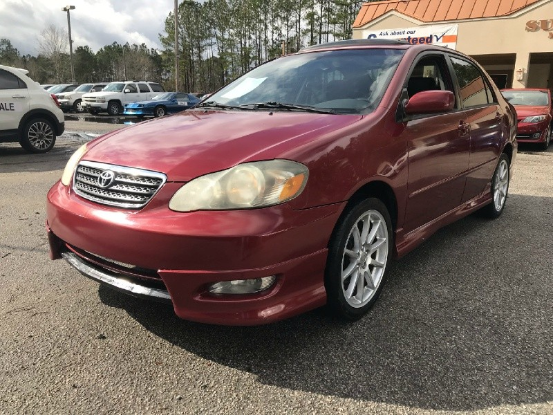 2005 toyota corolla 4dr sdn ce auto inventory sunset motors rh sunsetmotorcars com 2006 Corolla S 2006 Corolla S