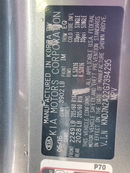 Kia Soul 2016 price $11,668